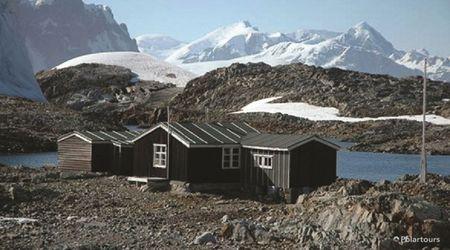 Antarctica Visitor Site- Wordie House