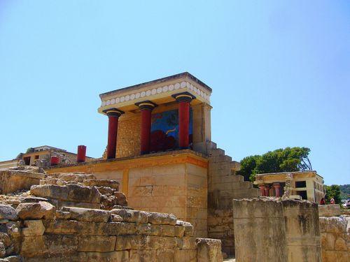 Crete xgrec Knossos Palace of Knossos Red
