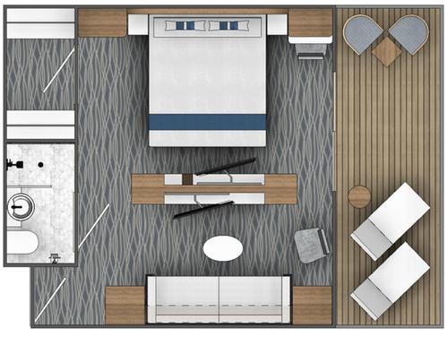 Ocean Albatross junior suite