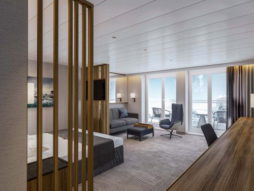 Ultramarine penthouse