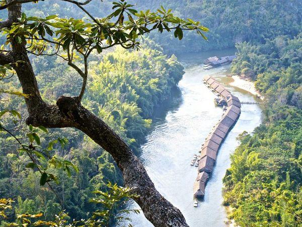 river kwai Jungle raft kanchanaburi