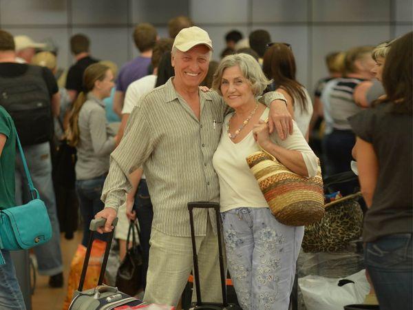 Traveler Departure at Airport