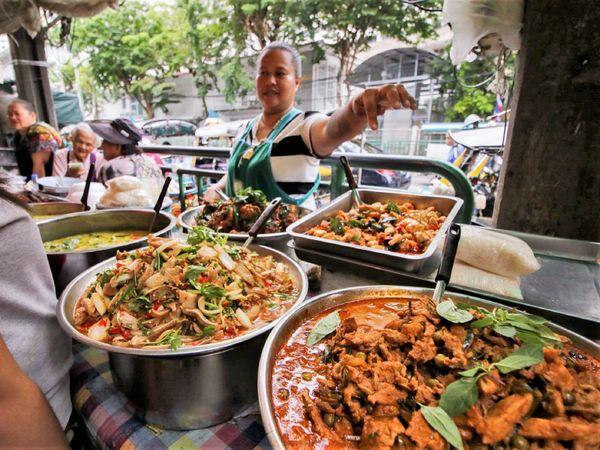 Wang Lang Market Food