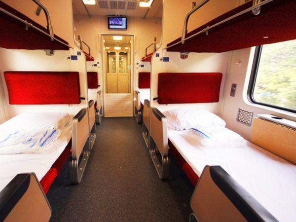 Thai State Sleeper Train NO.9 overnight chiangmai