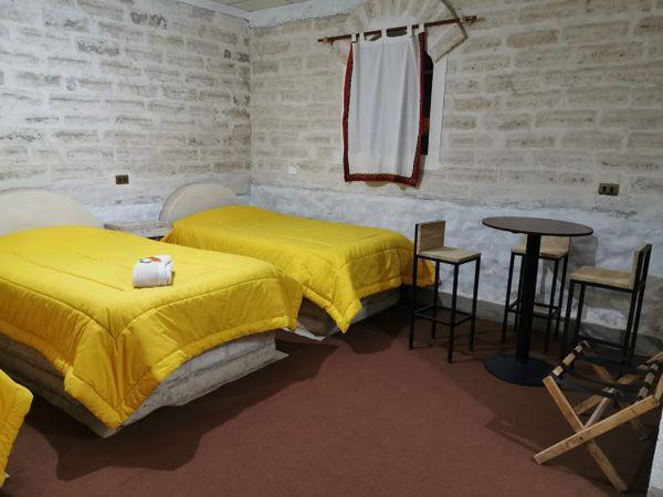 Refugio de sal Uyuni