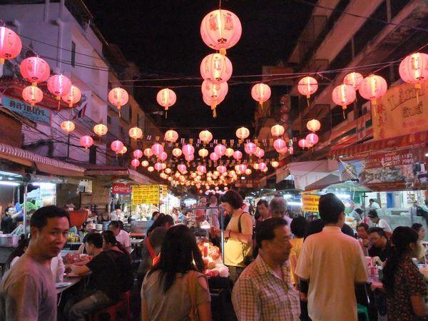 Chinatown Bangkok Thailand Lantern