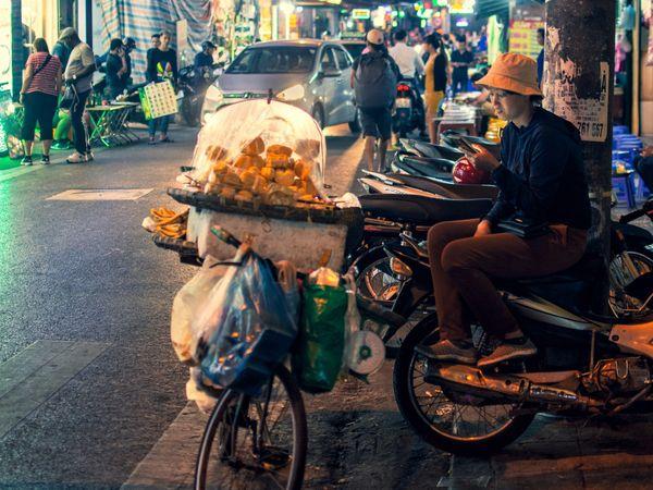 Hanoi at night by Adli Wahid