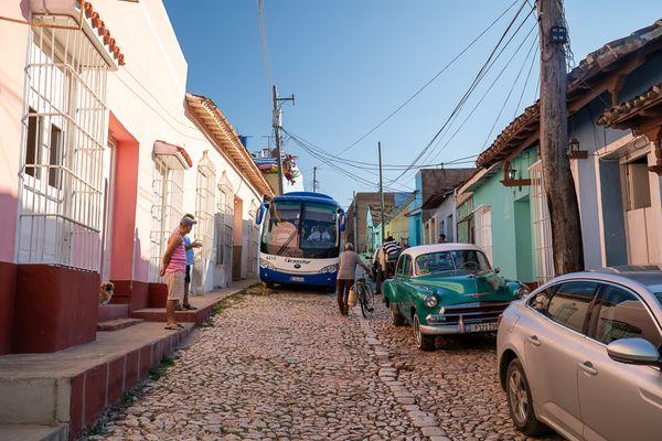 Trinidad bus street