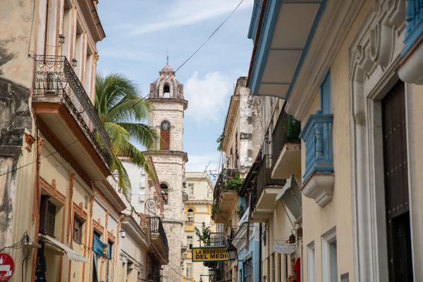 Street of cuba habana