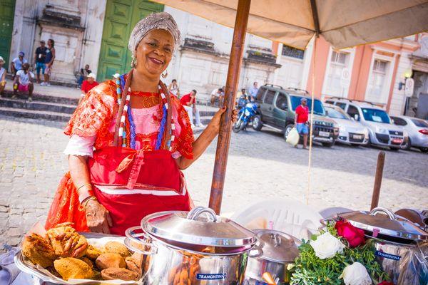 Salvador de Bahia street food