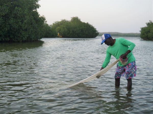 La Boquilla fisherman
