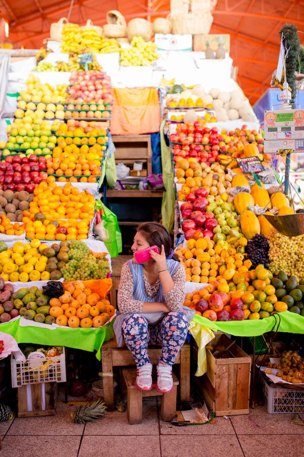 Arequipa market