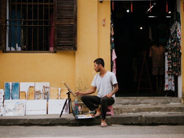 Painter Hoi An
