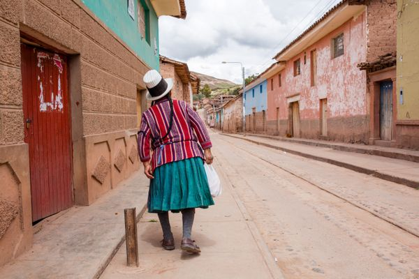 Sacred valley street view