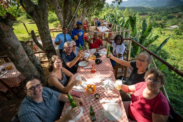 lunch with view vinales