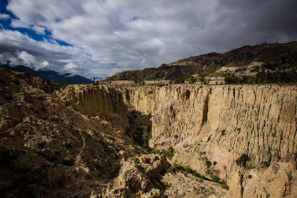 Valle de la luna La Paz