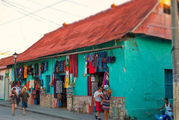 antigua street market