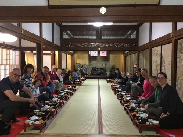 Temple stay in Koyasan