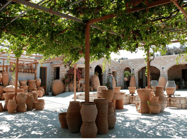 Margarites Pottery Garden Ceramic xgrec Crete