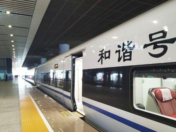 Speedy Train in China