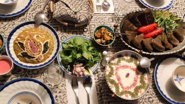 Isfahan food