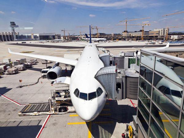 aircraft plane flight airport
