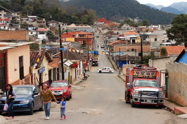 san cristobal de las casas street mexico chiapas