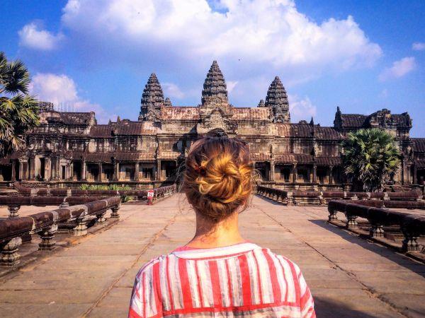 Angkor Wat Woman