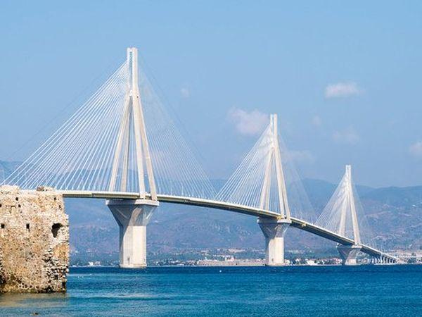 Rio Antirrio xgre Greece Bridge River