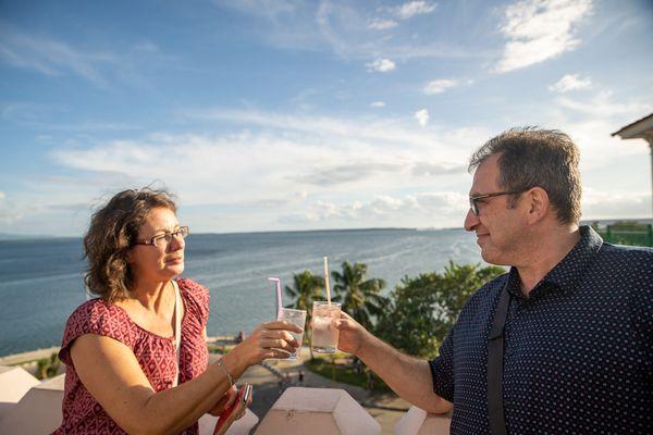 cienfuegos cuba rooftop drink