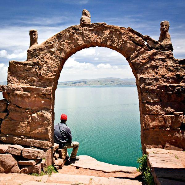 Isla del sol Bolivia Titicaca