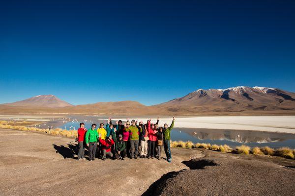 Sud Lipez laguna group