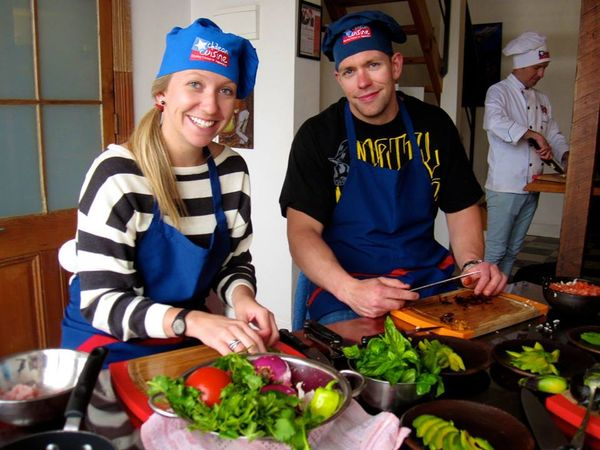 Chilean Cooking Class in Valparaiso