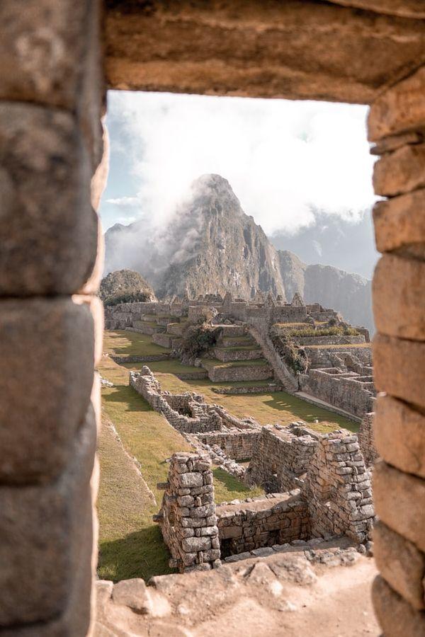 view to Huayna Picchu