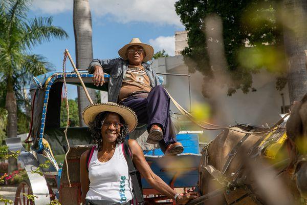 Bayamo horse taxi