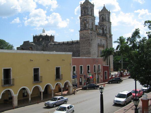 valladolid streets mexico yucatan