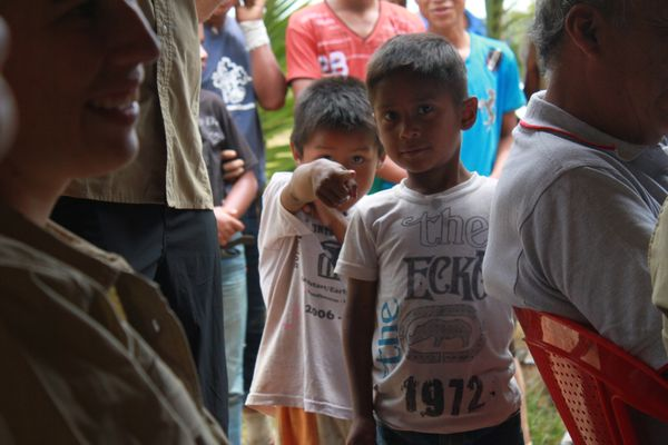 Guatemala local kids