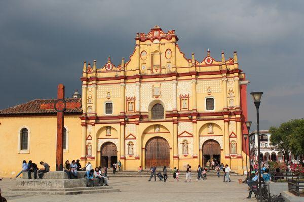 san cristobal de las casas city center mexico chiapas
