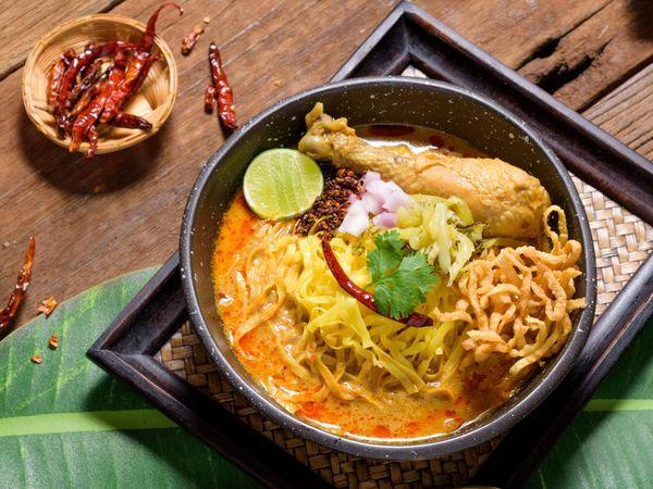 Khao Soi Food Chiang Mai Thailand noodle curry