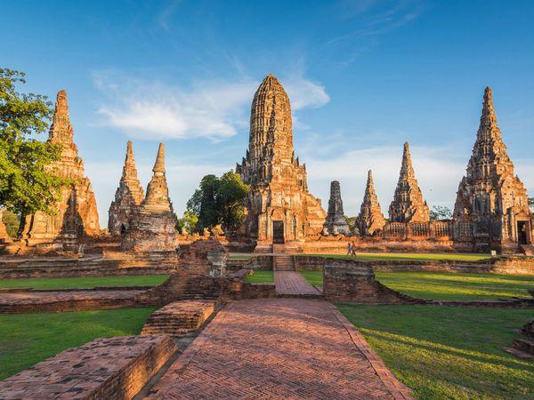 Wat Chai Wattanaram Sunset Ayutthaya