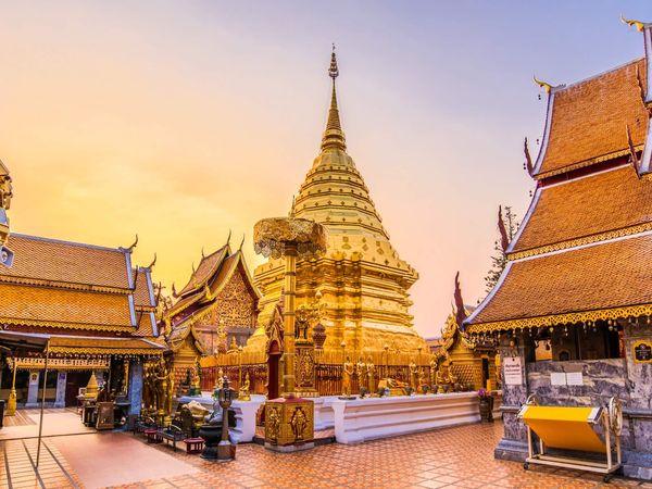 Wat Phra That Doi Suthep Chiang Mai Temple Thailand