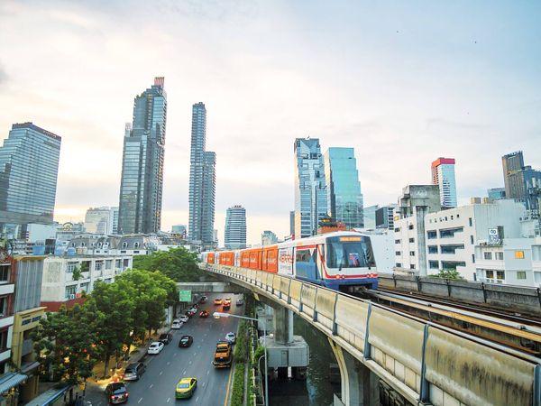Bangkok Sky Train Thailand BTS