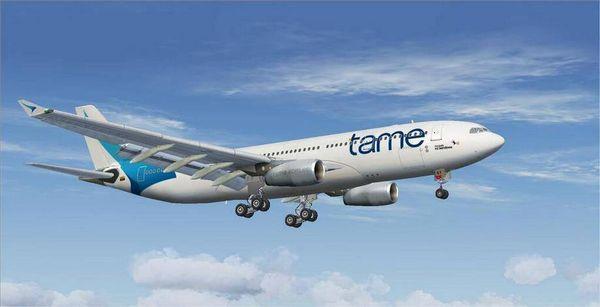 Flight to Baltra EQ193