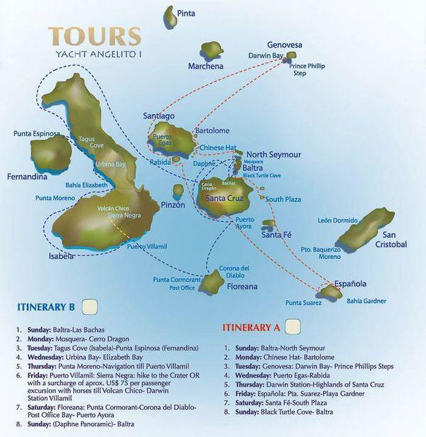 Angelito Galapagos Cruise