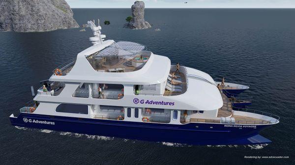Reina Silvia Voyager Galapagos Cruises