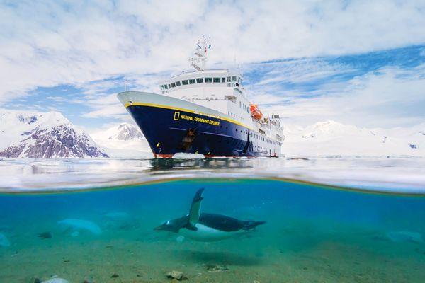 National Geographic Explorer exterior