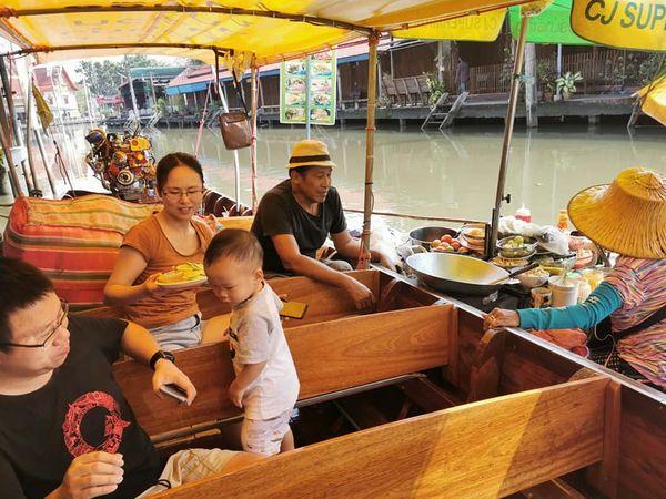 Amphawa Floating Market Boat