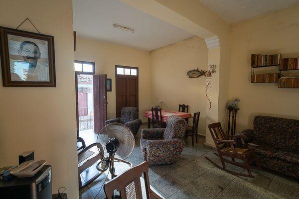 living roomchez l'habitant cuba