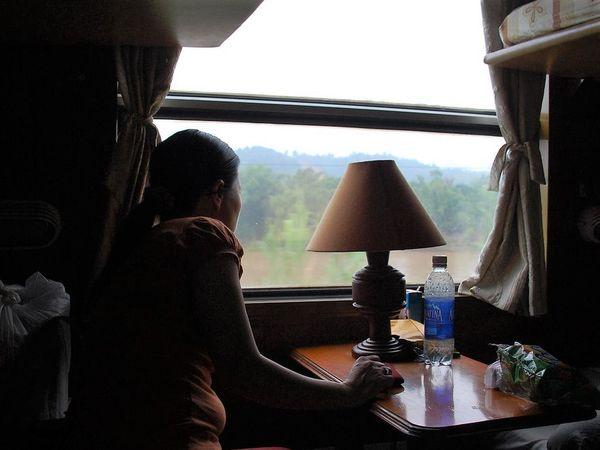 Vietnam Railways train by James Khoo