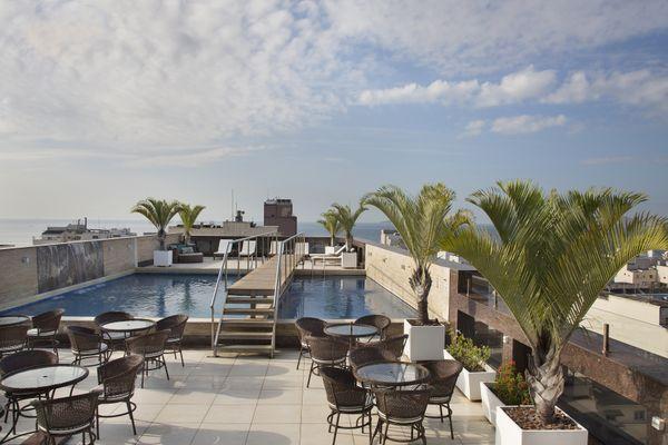 Royal Rio Palace Hotel Terrace and Pool